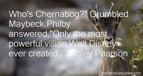 Quotes About Chernabog
