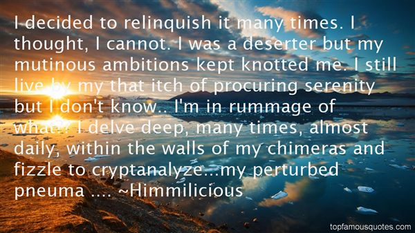 Quotes About Chimera