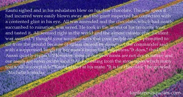 Quotes About Chocolate And Happiness