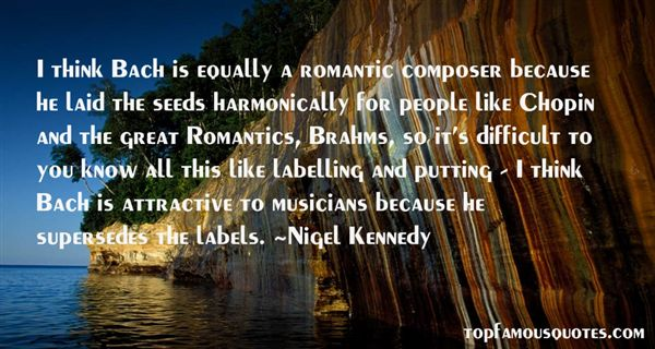 Quotes About Chopin Bach