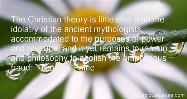 Quotes About Christian Idolatry