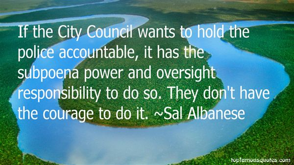 Quotes About City Council