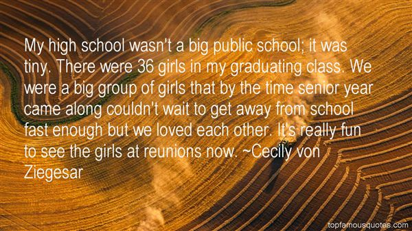 Quotes About Class Reunions