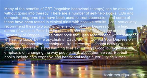 Quotes About Clinical Psychology