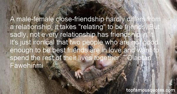Quotes About Close Friends