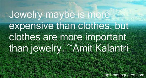 Quotes About Cloth