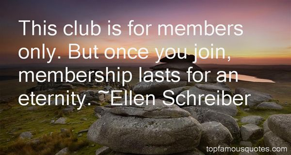 Quotes About Club Membership