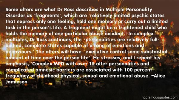 Quotes About Complex Personalities