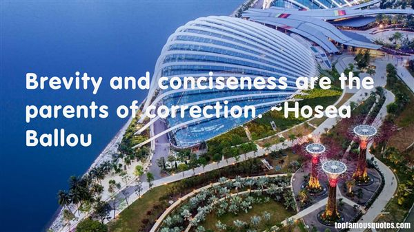 Quotes About Conciseness