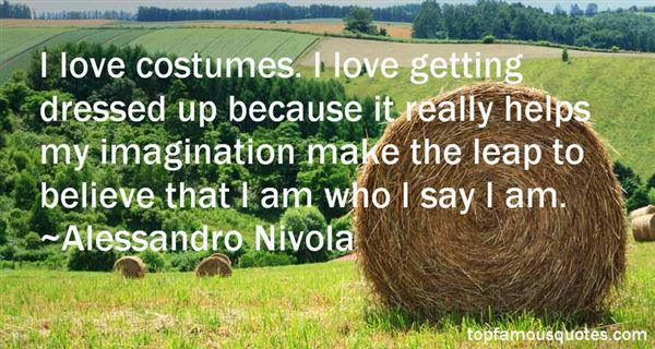 Quotes About Costumes