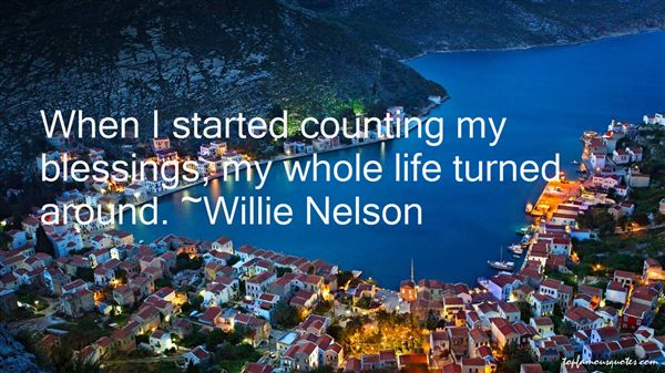 Quotes About Counting Blessings