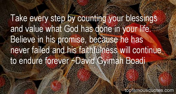 Quotes About Counting Our Blessings