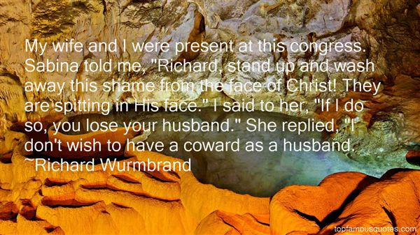 Quotes About Coward Husband