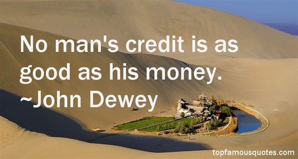 Quotes About Credit Money