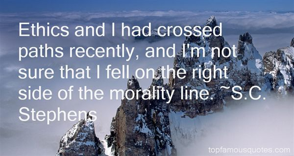 Quotes About Crossed Paths