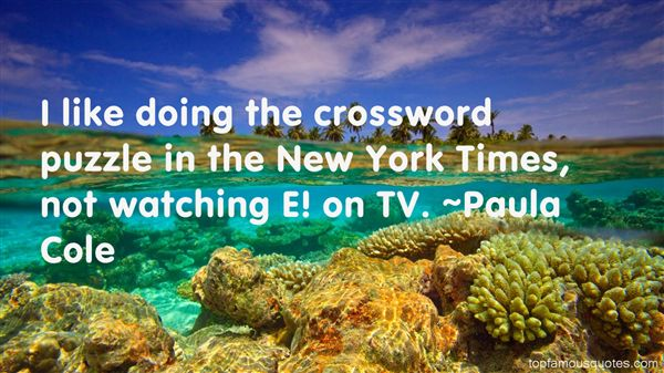 Quotes About Crossword