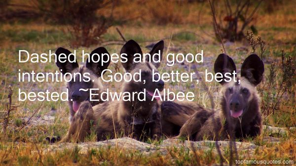 Quotes About Dashed Hopes