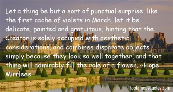Quotes About Delicate Flower