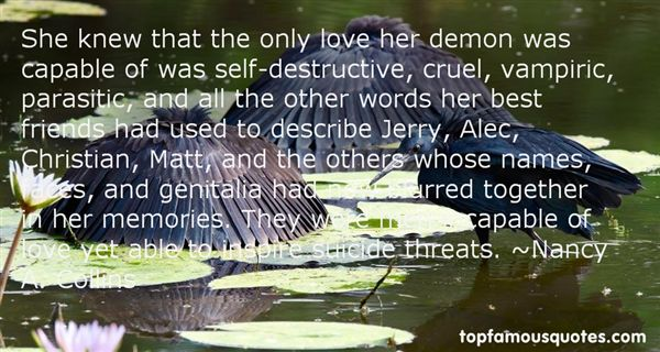 Quotes About Destructive Words