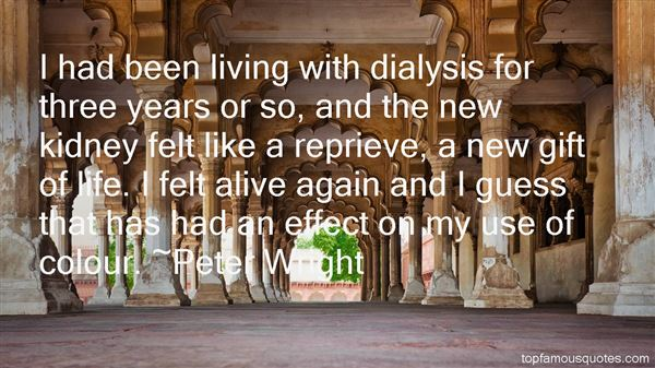 Quotes About Dialysis