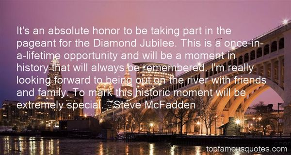 Quotes About Diamond Jubilee
