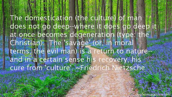 Quotes About Domestication
