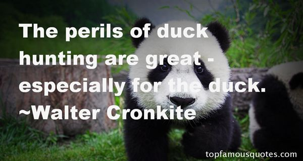 Quotes About Duck Hunting