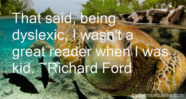 Quotes About Dyslexic