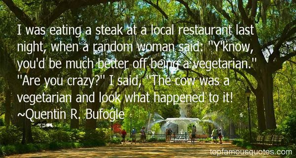 Quotes About Eating Steak