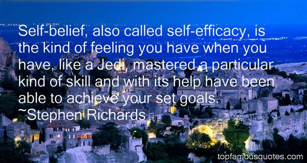 Quotes About Efficacy