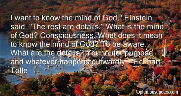 Quotes About Einstein Consciousness