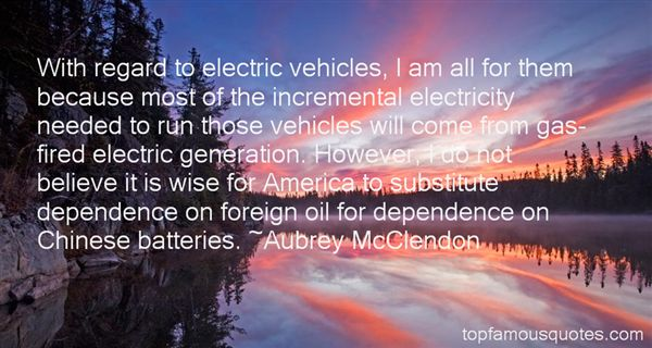 Quotes About Electric Vehicles