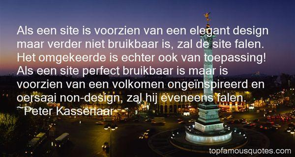 Quotes About Elegant Design
