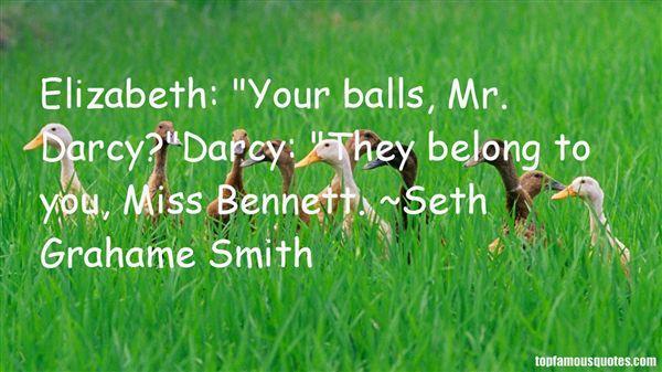 Quotes About Elizabeth Bennet