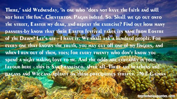 Quotes About Eostre