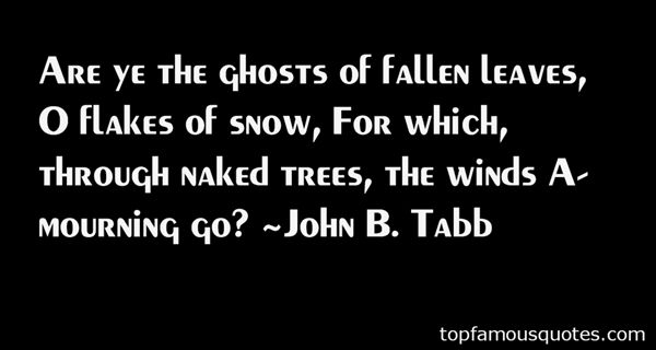 Quotes About Fallen Leaves