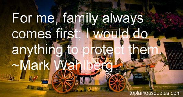 Quotes About Family Comes First