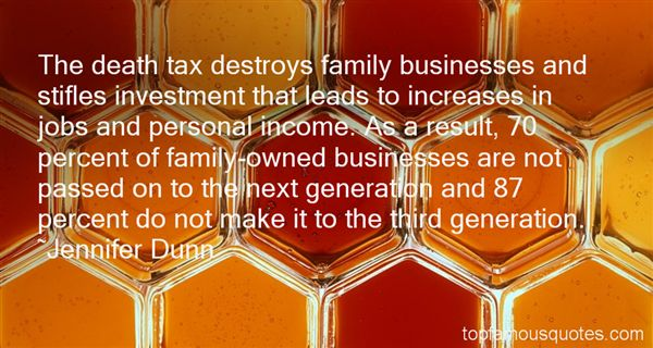 Quotes About Family Owned Businesses