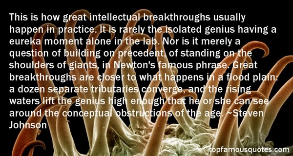 Quotes About Famous Breakthrough