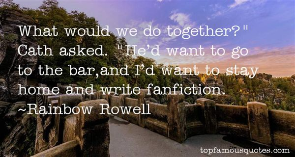 Quotes About Fanfiction
