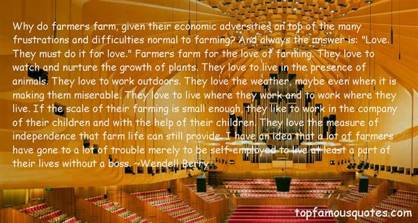 Quotes About Farming And Farmers