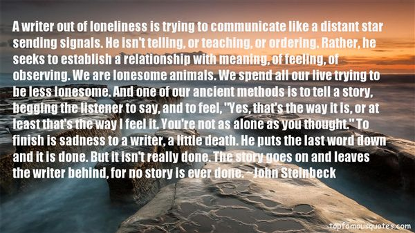 Quotes About Feeling Lonesome