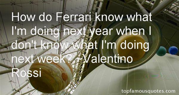 Quotes About Ferrari