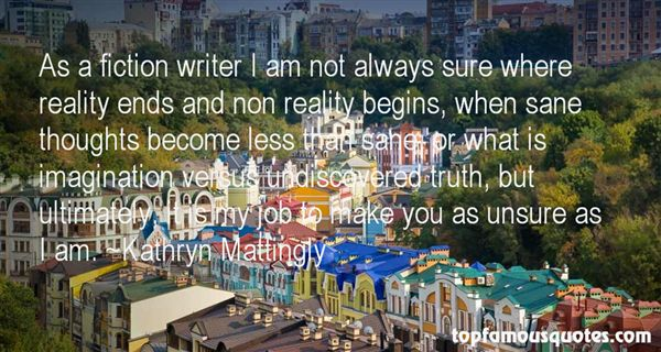 Quotes About Fiction And Reality