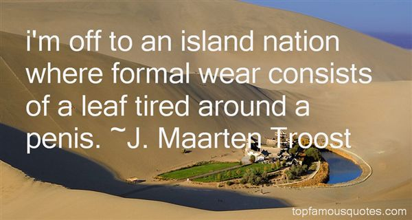 Quotes About Formal Wear