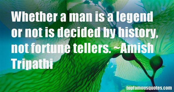 Quotes About Fortune Tellers