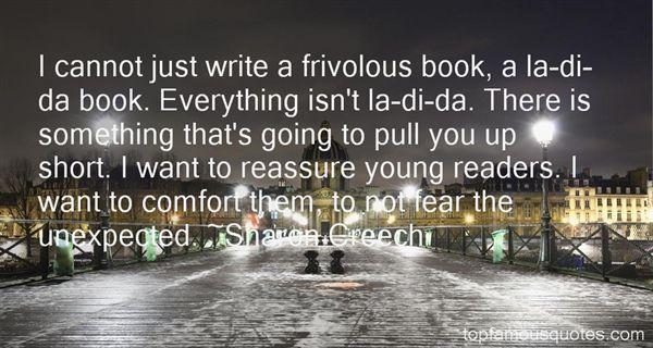 Quotes About Frivolous