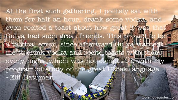 Quotes About Gathering With Friends