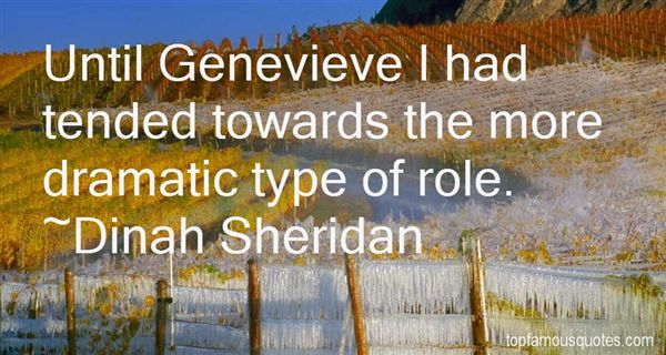 Quotes About Genevieve