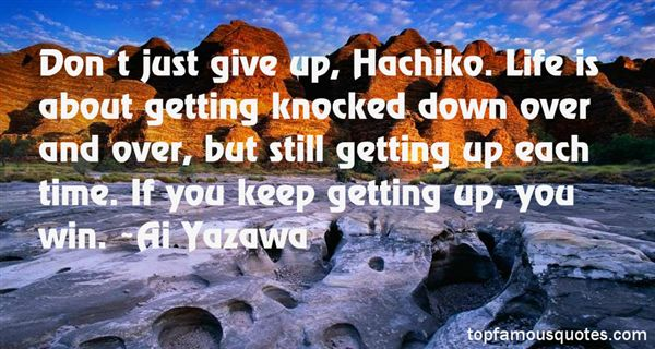 Quotes About Getting Knocked Down And Getting Up